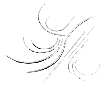 Surgical suture needles